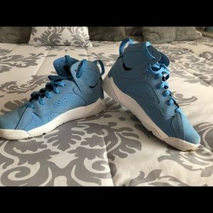 Light blue Air Jordan's